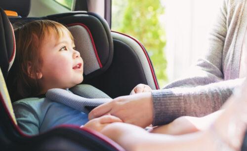 Nakładki na pasy bezpieczeństwa dla dzieci