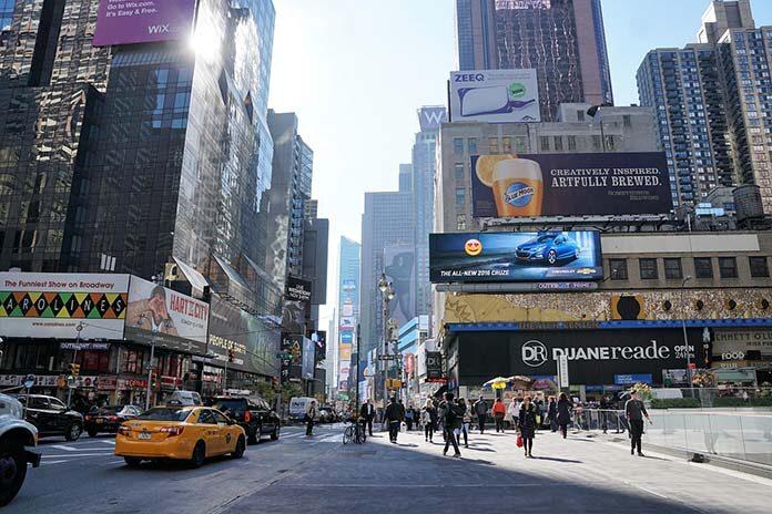 Reklama na telebimach LED