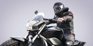 Stylizacja motocyklisty