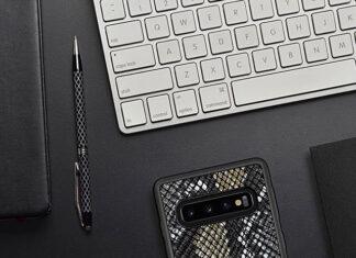 Etui skórzane Samsung S10