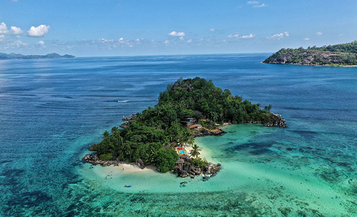 A luxurious getaway on Praslin Island
