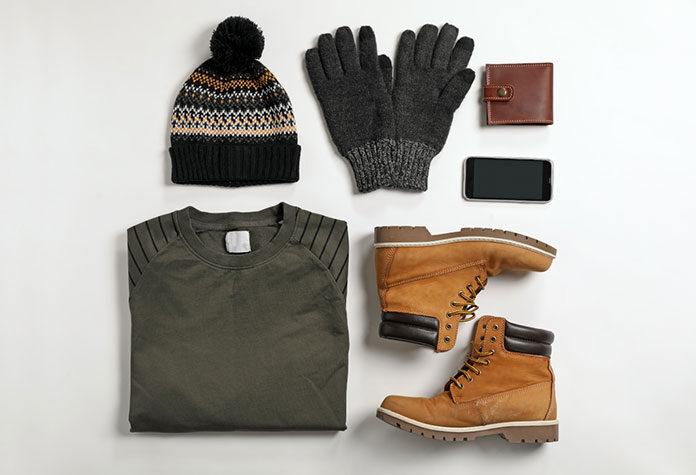 Botas de invierno para hombre modernas y prácticas.